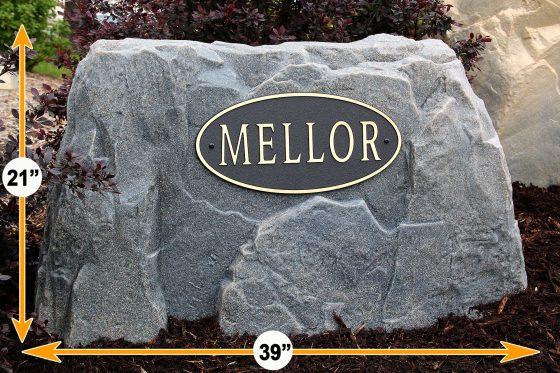 house address rocks