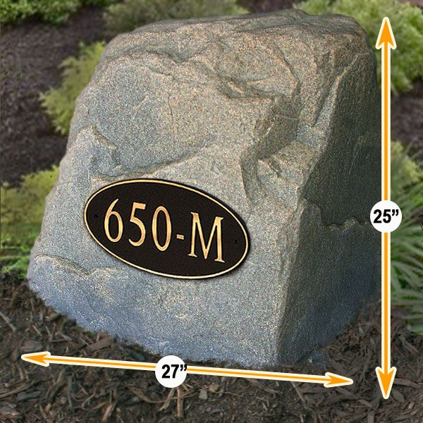 address-sign-numbers-rocks