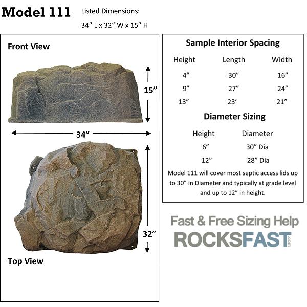 Dekorra Mock Rock 111 Faux Rocks