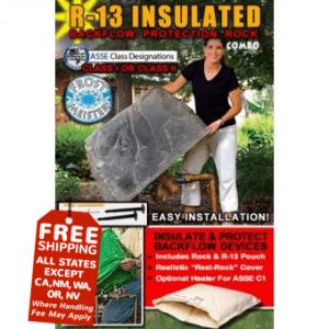 fiberglass backflow cover