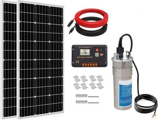 solar powered well pumps