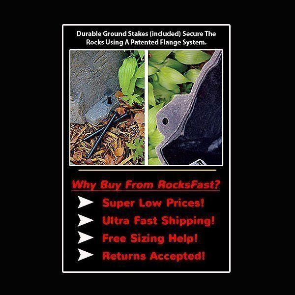 DekoRRa Mock Rock Model 105 Small Fake Rock Cover