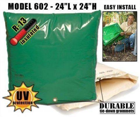 Dekorra Model 301c1 Heated Backflow Protection Enclosure