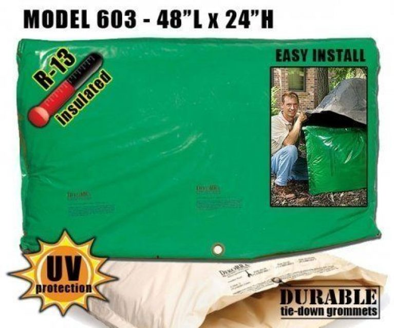 "Backflow Insulation Bag Blanket 48""L x 24""H - DekoRRa 603 Backflow Pouch"