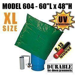 Well Pump Pressure Tank Insulation Bag Blanket 60″L x 48″H DekoRRa 604