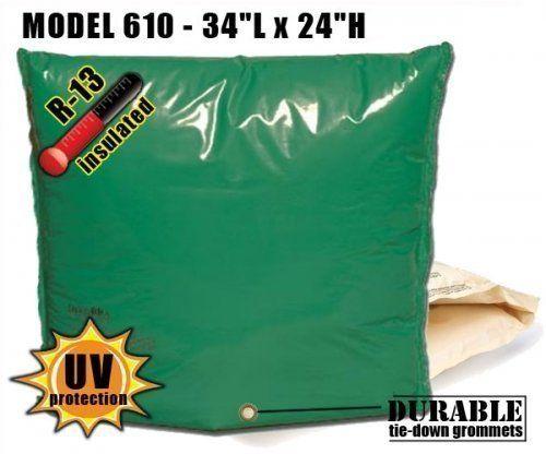 Backflow Insulation Bag Blanket 34″L x 24″H DekoRRa 610 Backflow Pouch