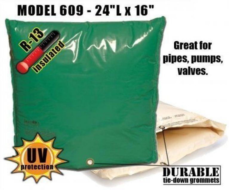 "Backflow Insulation Bag Blanket 24""L x 16""H DekoRRa 609 Backflow Pouch"