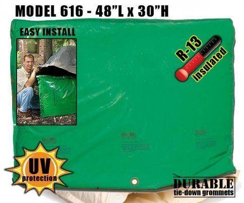 Backflow Insulation Bag Blanket 48″L x 30″H DekoRRa 616 Backflow Pouch