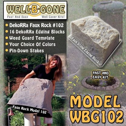 Well-B'-Gone Well Pump Cover Kit WBG102