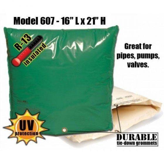 """Backflow Insulation Bag Blanket 16""""L x 21""""H DekoRRa 607 Backflow Pouch"""