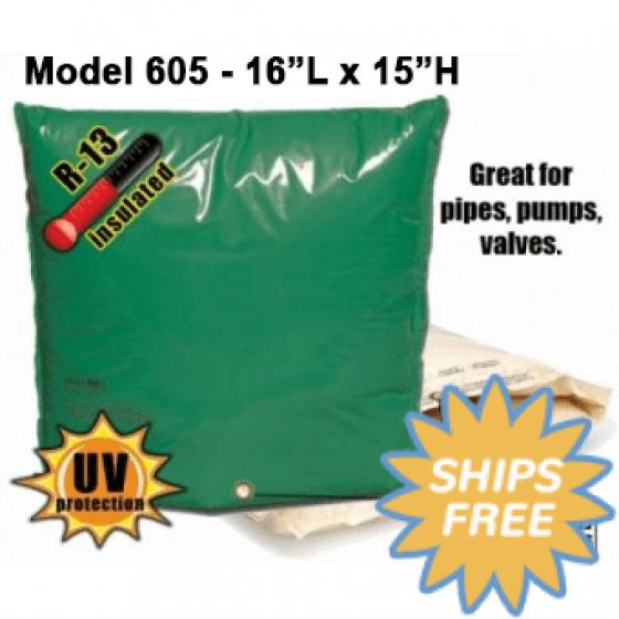 """Backflow Insulation Bag Blanket 16""""L x 15""""H DekoRRa 605 Backflow Pouch"""