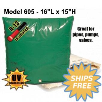 Backflow Insulation Bag Blanket 16″L x 15″H DekoRRa 605 Backflow Pouch